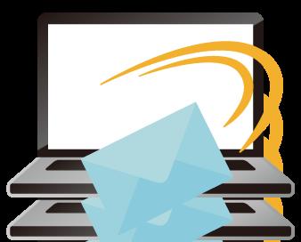 メールサポートのイメージ